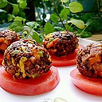 五彩饭团-冷饭变营养早餐-蜜桃爱营养师私厨-健康幸福餐