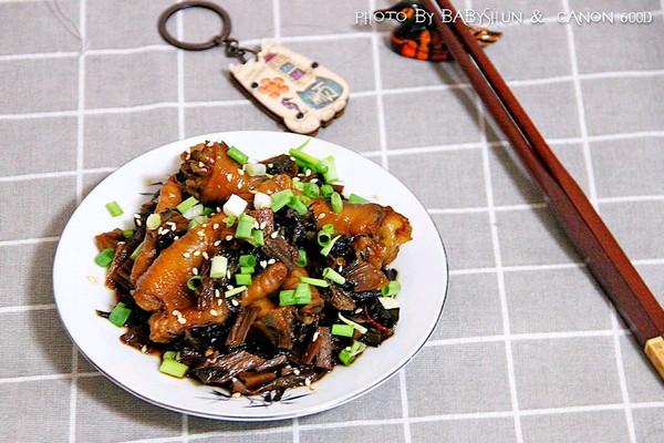 梅菜炖凤爪#金龙鱼外婆乡小榨菜籽油 最强家乡菜#的做法