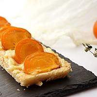 蜜糖柿子奶酪烤吐司