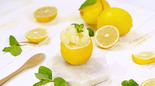零难度清新柠檬雪葩!