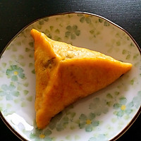 南瓜黑芝麻糖三角
