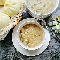鲜玉米绿豆粥