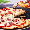 小羽私厨之饺子皮披萨