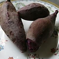 紫薯玫瑰馒头的做法<!-- 图解1 -->