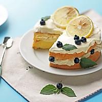柠檬酸奶戚风蛋糕