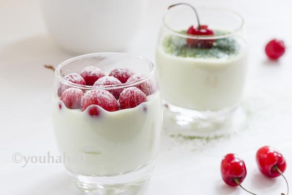 抹茶酸奶的做法