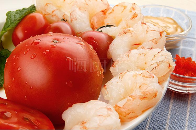 千岛虾仁番茄沙拉的做法