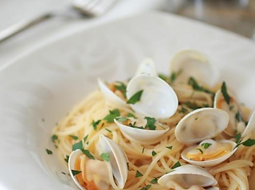 白酒蛤蜊意面的做法