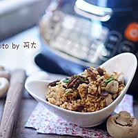蘑菇牛肉焖饭#膳魔师地方美食大赛(成都)#