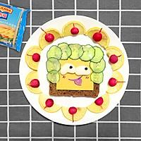 萌娃三明治