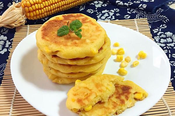 甜玉米饼的做法_【图解】甜玉米饼怎么做如何做好吃