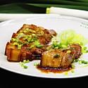 蜜汁烤五花肉#蒸派or或烤派#