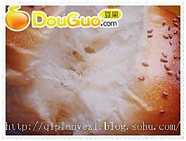 鸡蛋芝麻土司的做法