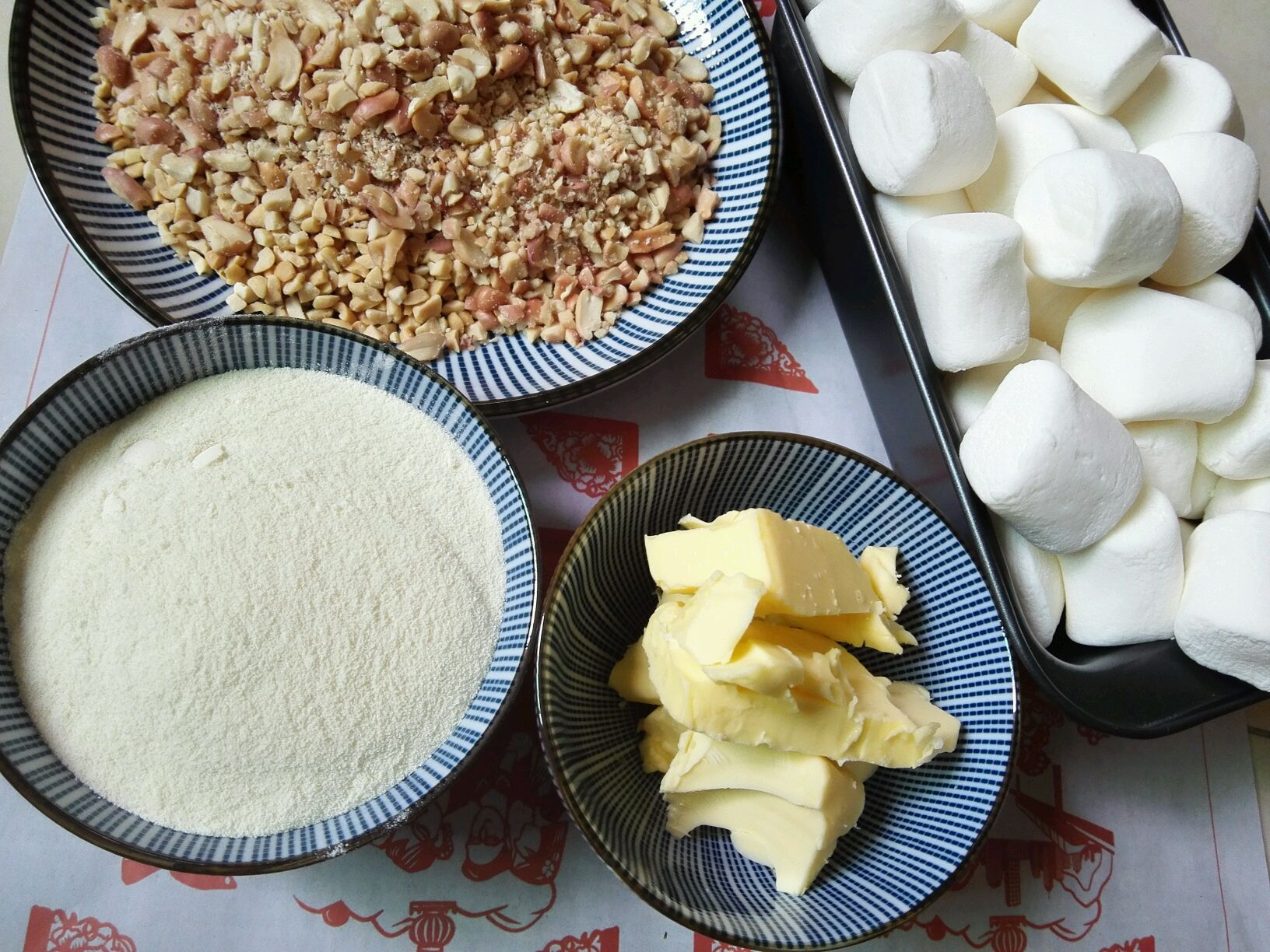 手工牛轧糖的做法步骤