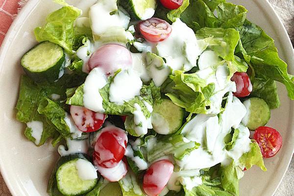 减肥酸奶蔬菜沙拉的做法