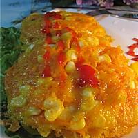 红萝卜玉米鸡蛋饼