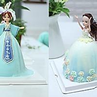 芭比娃娃蛋糕制作方法