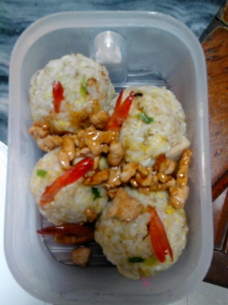 虾尾饭团的做法_【图解】虾尾饭团怎么做如何做好吃