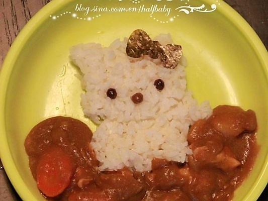 儿童喜爱的咖喱饭