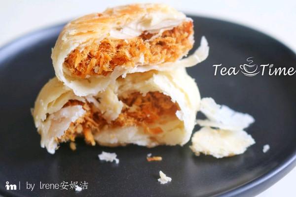 肉松酥饼—好吃停不下的做法