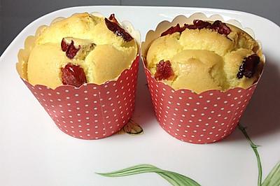 蔓越莓杯子蛋糕#长帝烘培节#