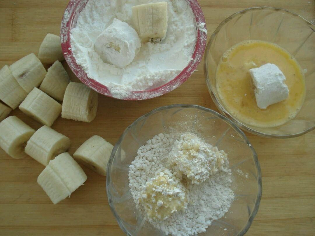 豆子做香蕉手工制作