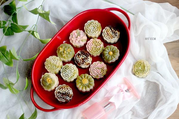 桃山月饼#每道菜都是一台时光机#的做法