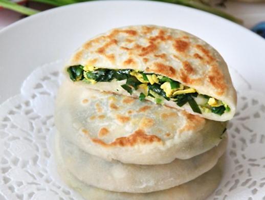 韭菜鸡蛋馅饼的做法_【图解】韭菜鸡蛋馅饼怎么做如何