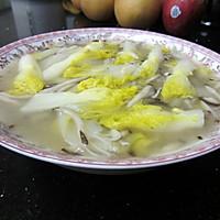 家乐之上汤蘑菇白菜
