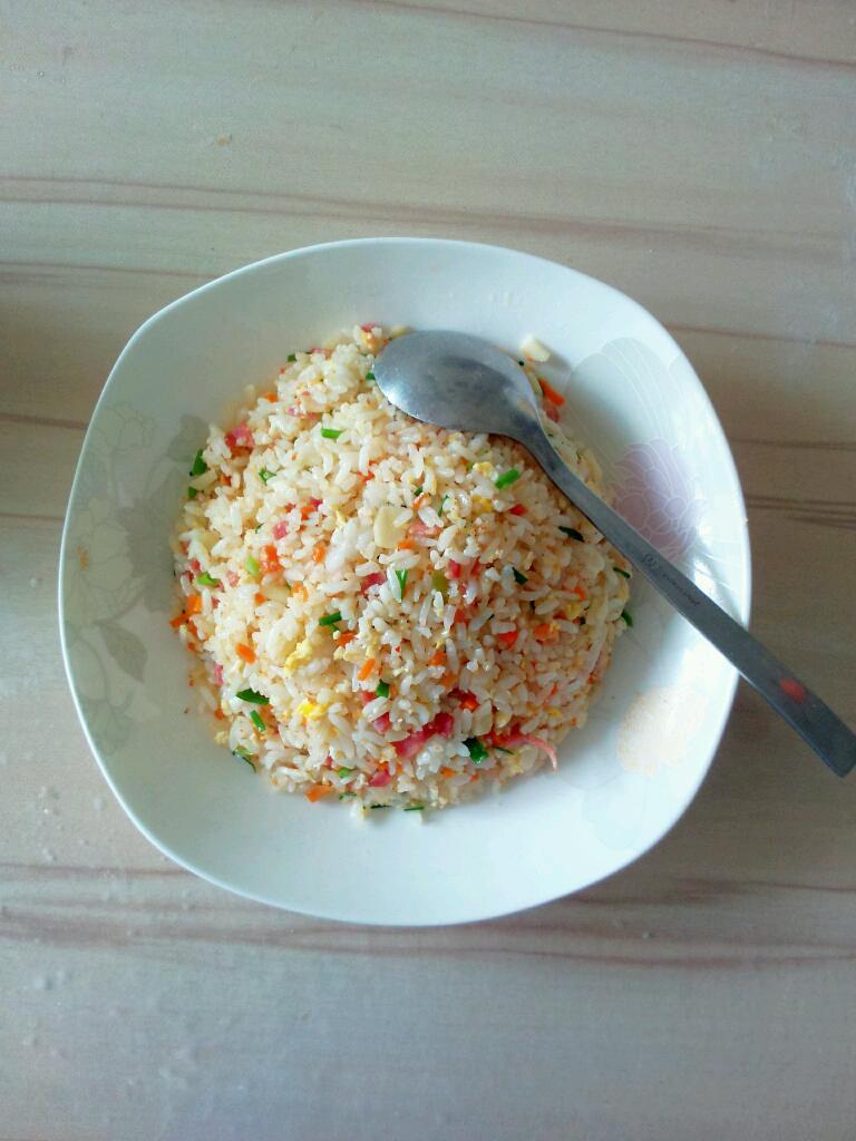 培根炒饭的做法_【图解】培根炒饭怎么做如何做好吃
