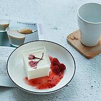 樱花椰奶冻—冬日里的小清新