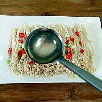 白灼金针菇#厨此之外,锦享美味#的做法图解6