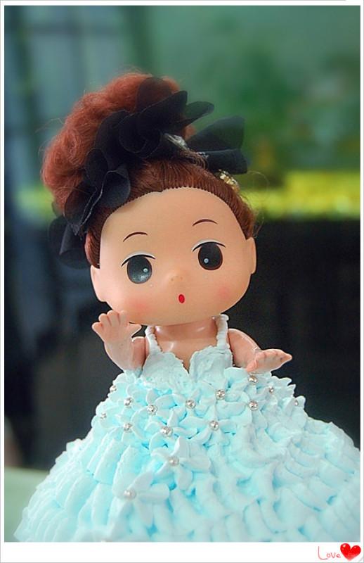 小公主生日蛋糕的做法