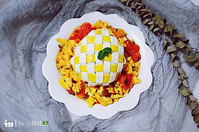 编织藜麦番茄饭