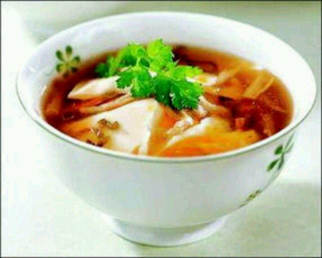 豆腐脑美食红土窑图片