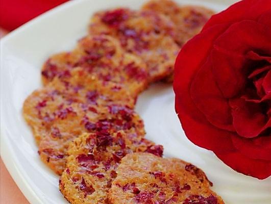 非传统口味的奶香玫瑰煎蛋饼的做法