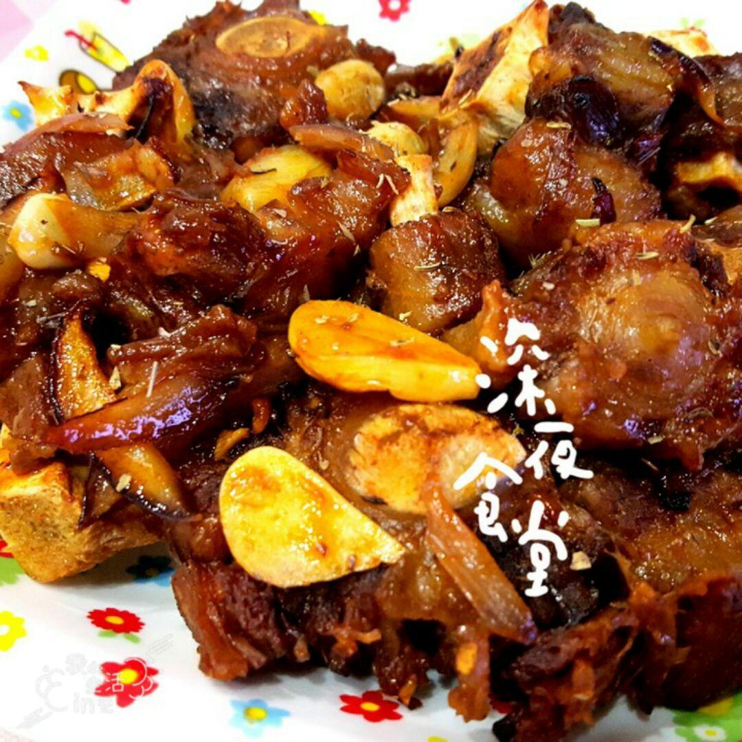 做法几片百里香适量泰小妍の韩式烤牛尾的菜谱生姜本步骤的郭记家常菜下水管图片