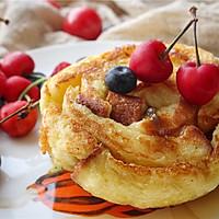 年轮早餐吐司,为平淡的生活增添一些有趣的味道。