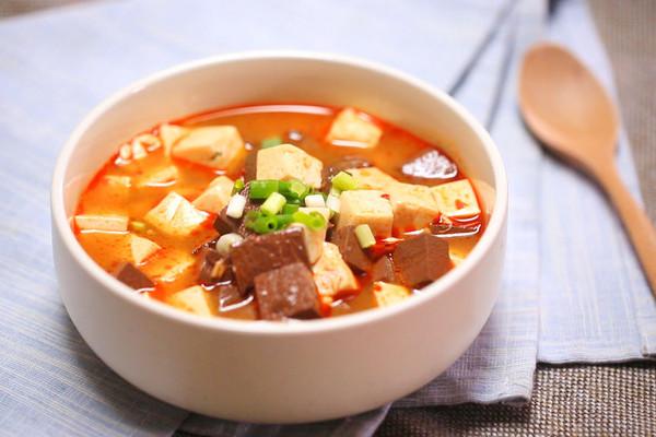 鸳鸯豆腐—迷迭香的做法