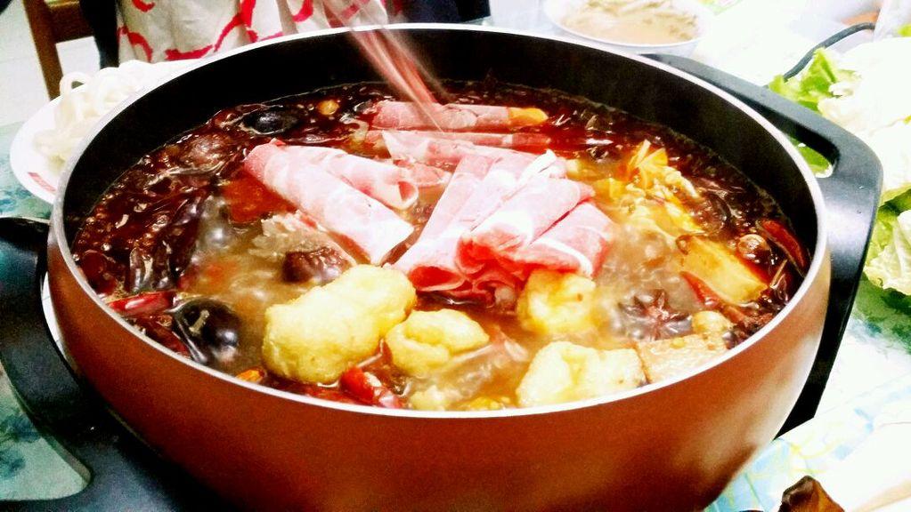 家常自助火锅-----利仁电火锅试用菜谱