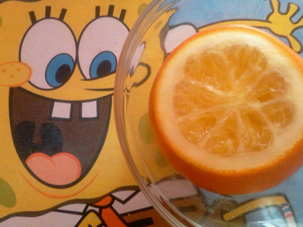 蒸橙子--祛痰止咳的做法步骤
