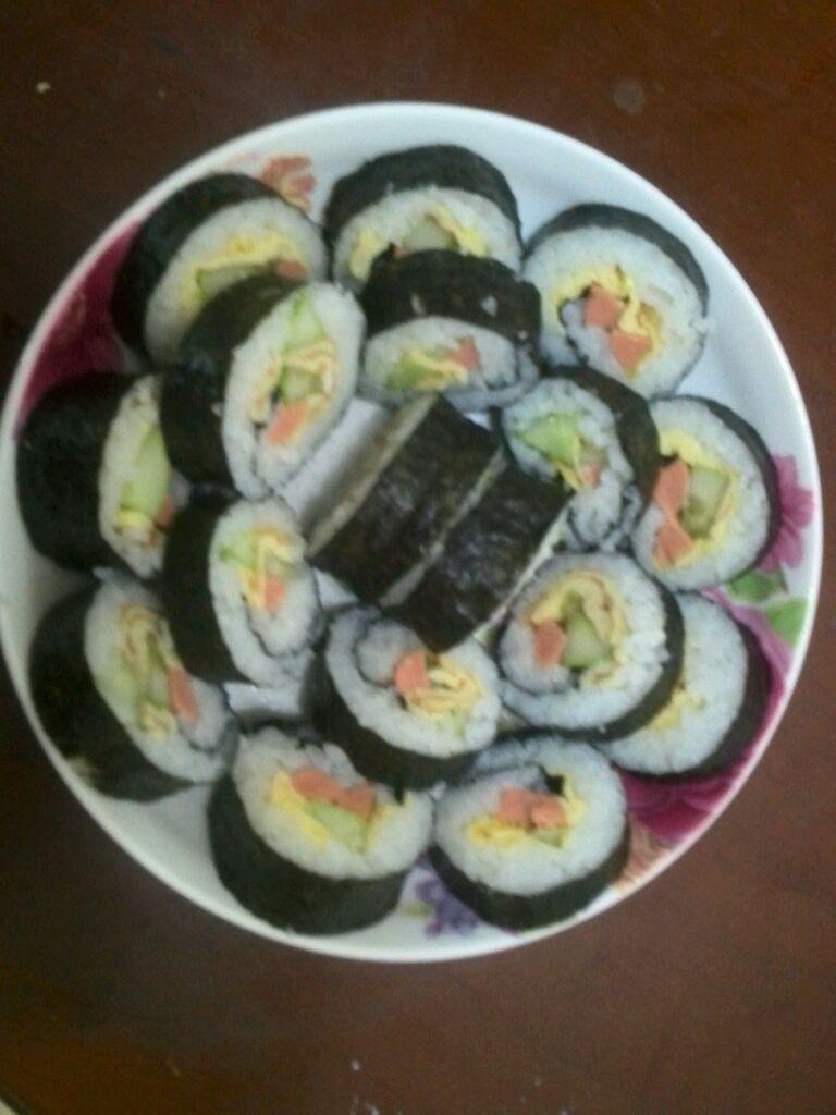 简易寿司的做法 !-- 图解1