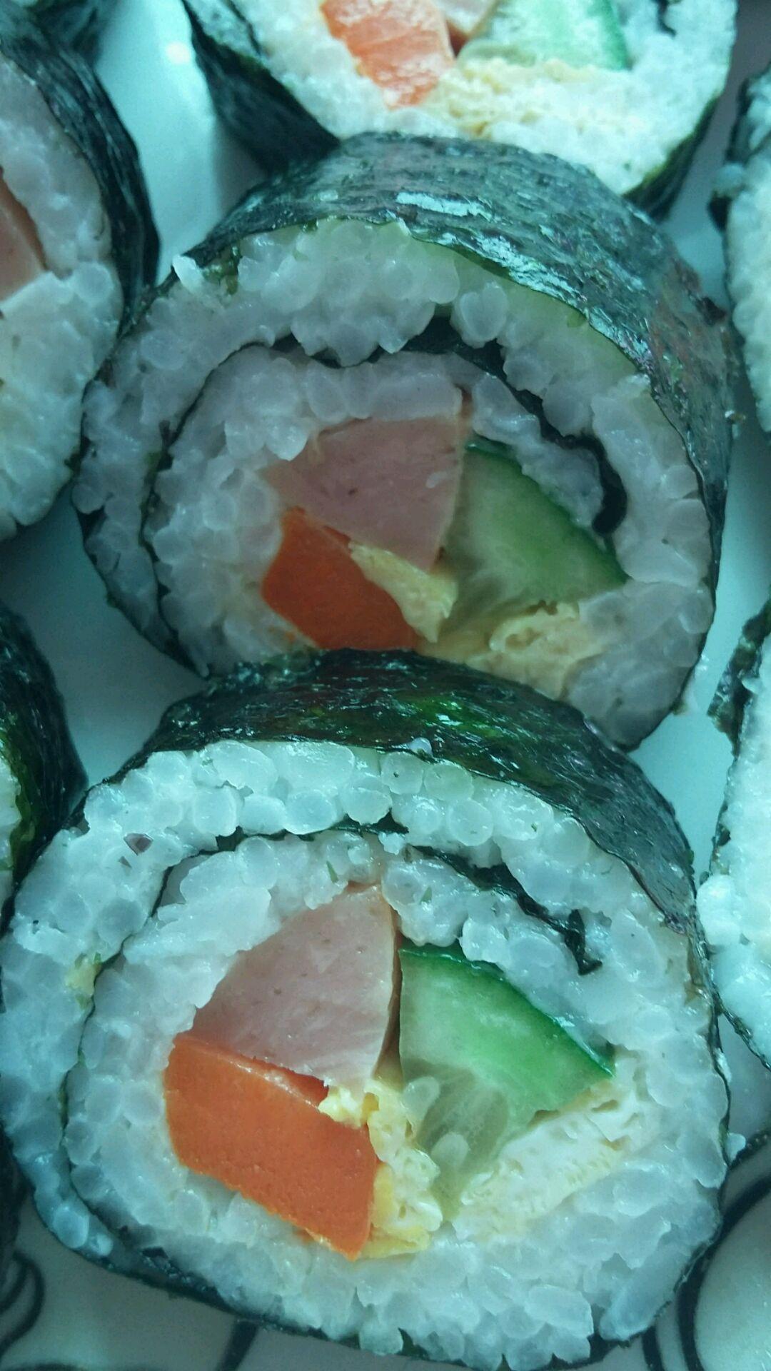 简单寿司的做法图解7