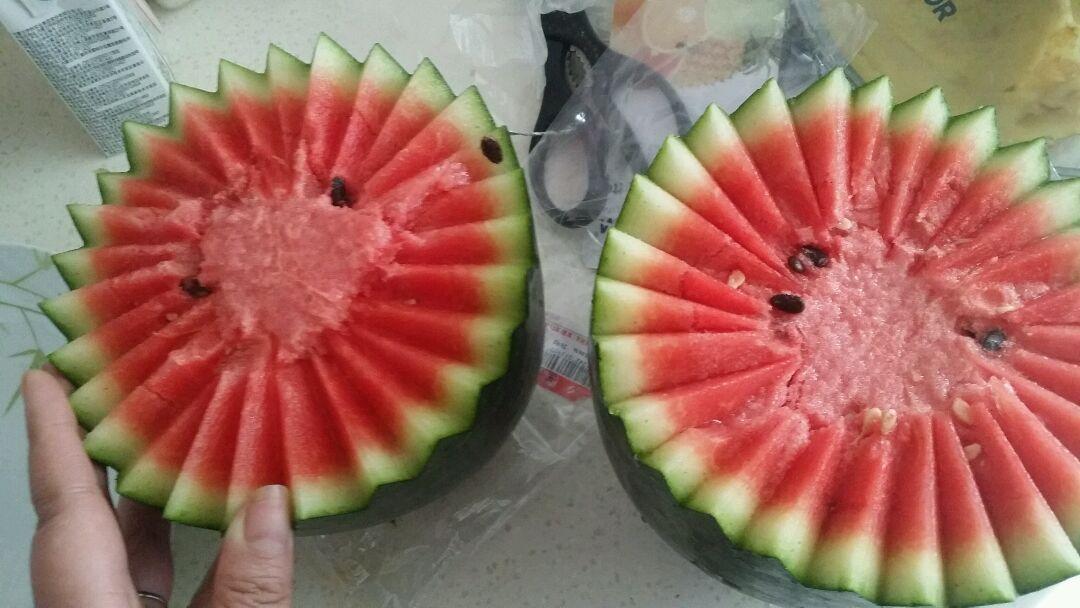 水果拼盘的做法步骤