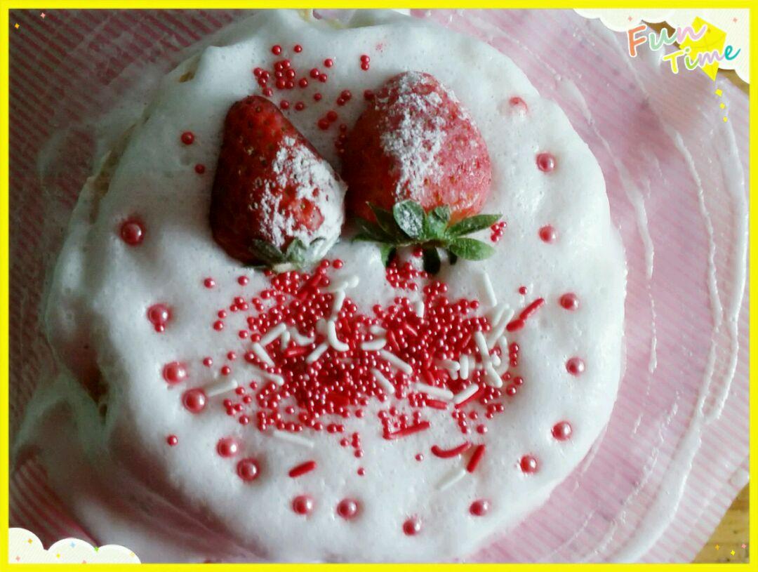 戚风草莓生日蛋糕的做法