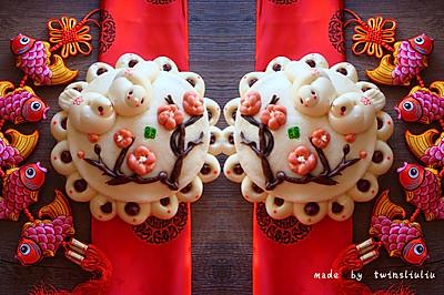新年好彩头 花样面食枣花糕——喜鹊登梅
