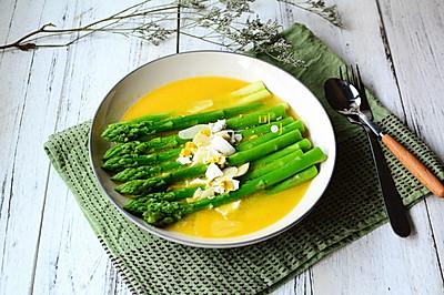 金汤芦笋:夏天清淡素菜