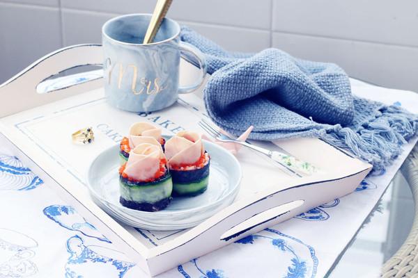 玫瑰紫菜包饭#单挑夏天#的做法
