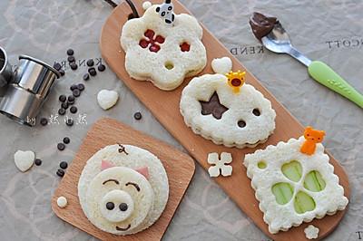吐司卡通吃#最萌缤纷儿童节#