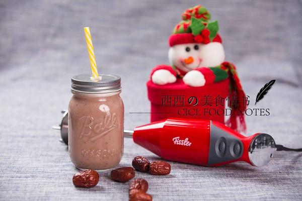 红枣牛奶+红酒牛蛙 #一菜一饮#  红红火火12月的做法